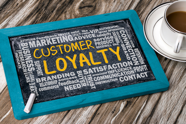 customer loyalty with related word